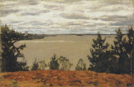 Жуковский С. Ю. Озеро Сенеж