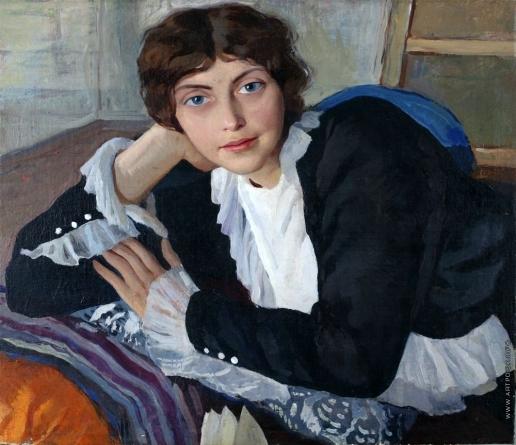 Серебрякова З. Е. Портрет Лолы Бра