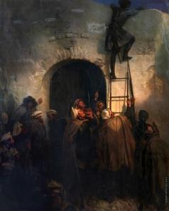 Виллевальде Б. П. Охотники Ширванского полка на Гунибе
