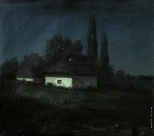 Куинджи А. И. Лунная ночь