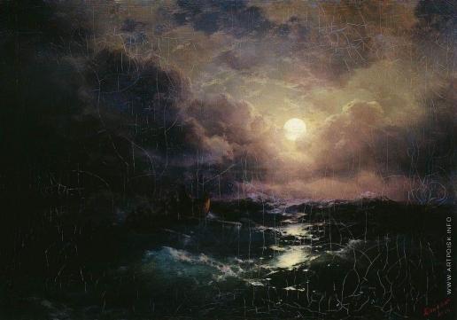Айвазовский И. К. После бури. Восход луны