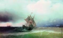 Айвазовский И. К. Приближение бури