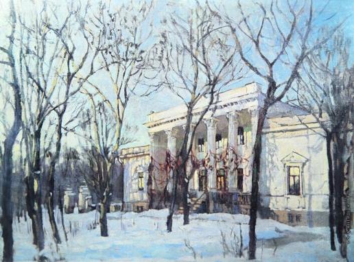 Жуковский С. Ю. Княжеский дом зимой