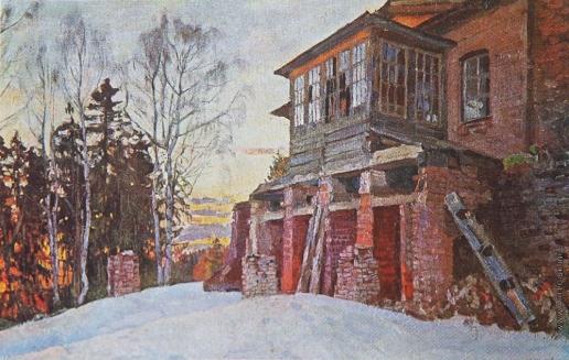 Жуковский С. Ю. Забытое прошлое (Руины)