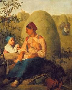 Венецианов А. Г. Сенокос