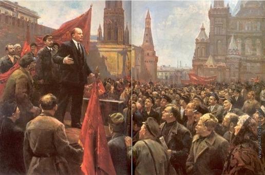 Налбандян Д. А. Выступление В.И.Ленина на Красной площади в 1919 году