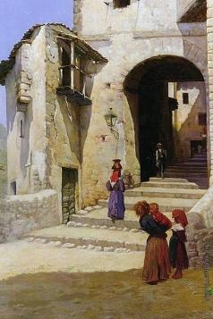 Южанин С. Н. Итальянский дворик