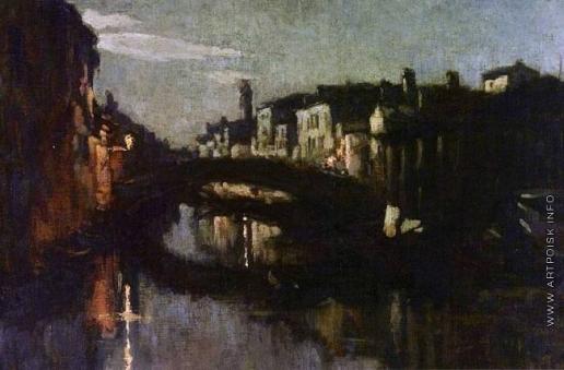 Южанин С. Н. Венеция ночью