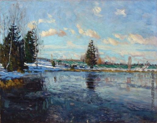 Жуковский С. Ю. Ранняя весна