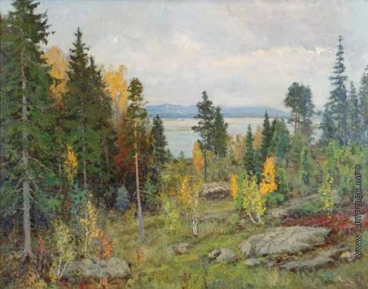 Жуковский С. Ю. Северный пейзаж