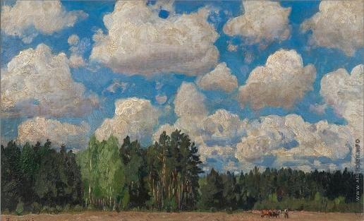 Жуковский С. Ю. Опушка леса
