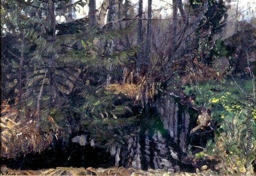 Жуковский С. Ю. Источник в лесу