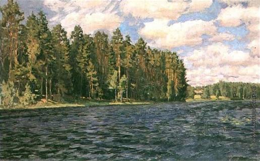 Жуковский С. Ю. У озера