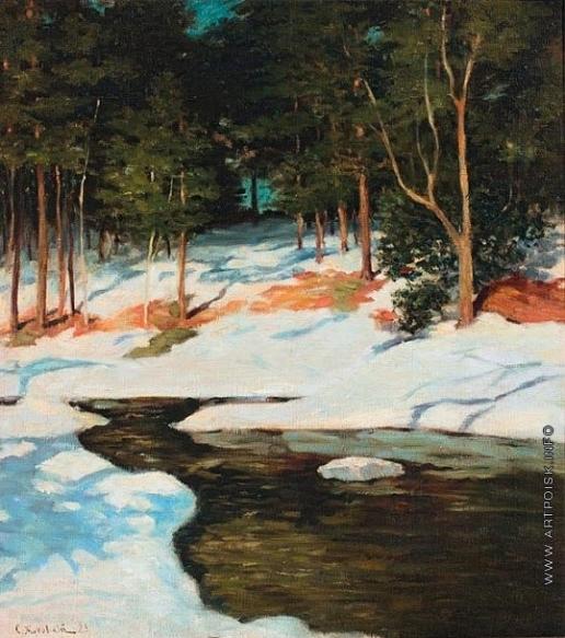 Жуковский С. Ю. В лесу зимой