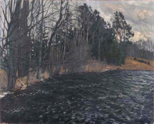Жуковский С. Ю. Берег реки