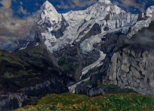 Жуковский С. Ю. Альпы. Горная Швейцария