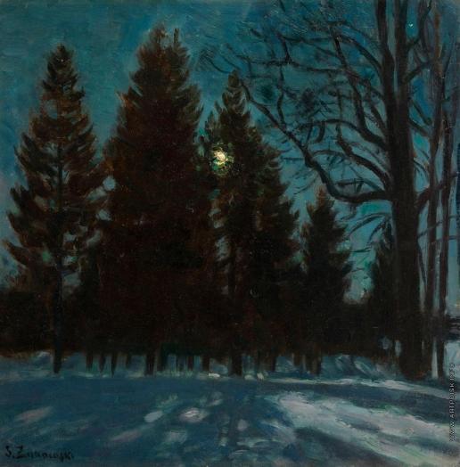 Жуковский С. Ю. Зимняя ночь