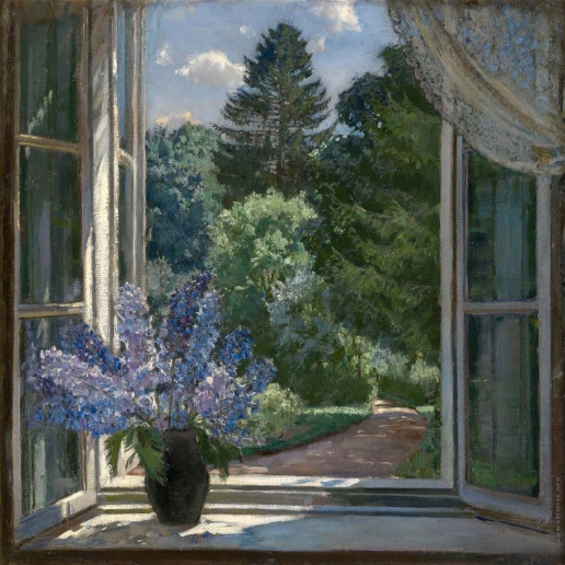 Жуковский С. Ю. Вид из окна