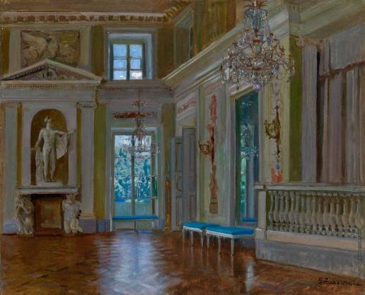Жуковский С. Ю. Бальный зал в Лазенковском дворце