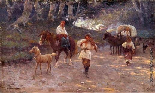 Сведомский А. А. Цыганский табор