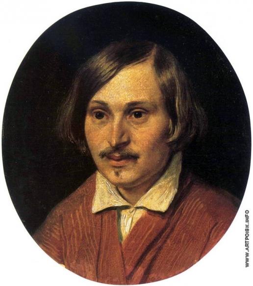 Иванов А. А. Портрет Гоголя Н.В.