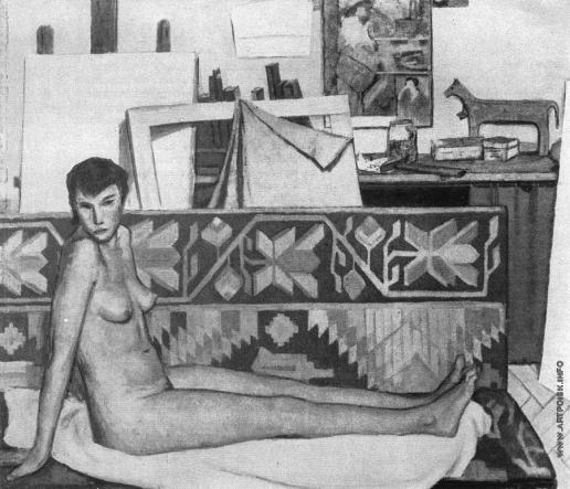 Никич А. Ю. В мастерской