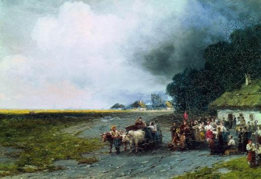 Айвазовский И. К. Свадьба на Украине