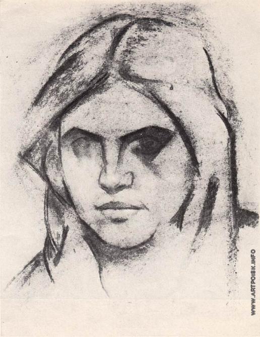 Шорчев А. П. Голова девочки