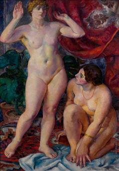 Нивинский И. И. Две женские фигуры (Венера)