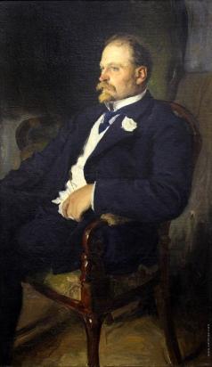 Моравов А. В. Портрет В.К. Бялыницкого-Бирули