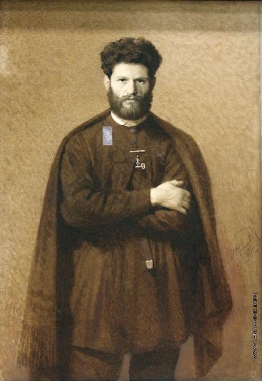 Крамской И. Н. Портрет М.М. Антокольского