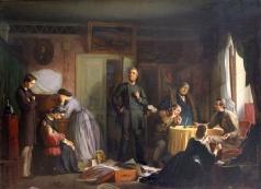 Журавлев Ф. С. Кредитор описывает имущество вдовы