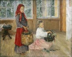Корзухин А. И. Дети на террасе