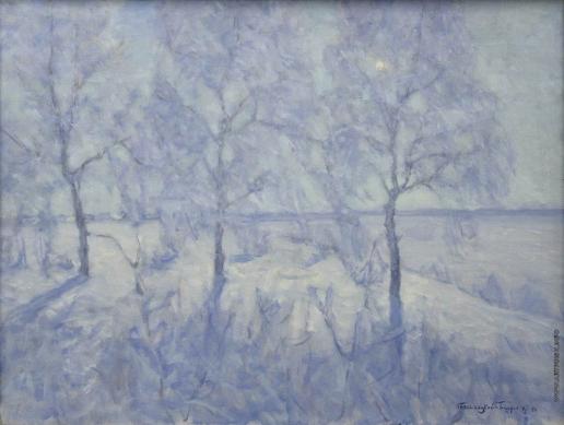 Бялыницкий-Бируля В. К. Кружева зимы