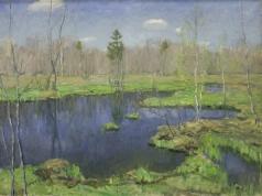 Бялыницкий-Бируля В. К. Голубой весной