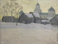 Бялыницкий-Бируля В. К. Зимний день