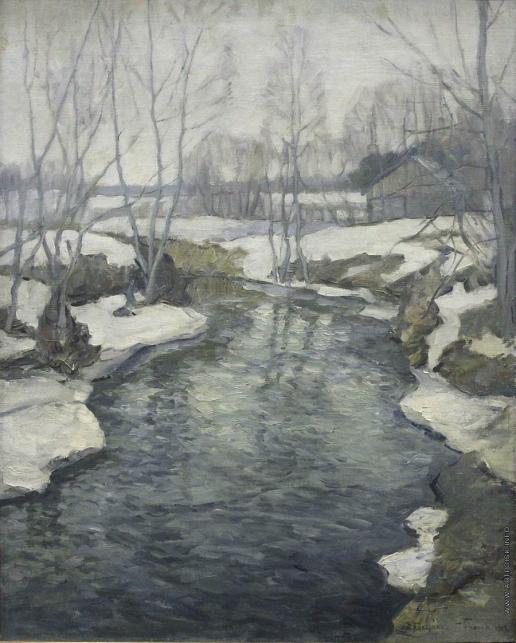 Бялыницкий-Бируля В. К. Весна идет