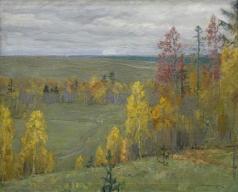 Бялыницкий-Бируля В. К. «Унылая пора, очей очарованье». Осень