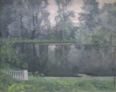 Бялыницкий-Бируля В. К. Горки. Верхний пруд