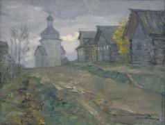 Бялыницкий-Бируля В. К. Деревня Зачачье. Этюд