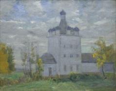 Бялыницкий-Бируля В. К. Девятиглавая деревянная церковь