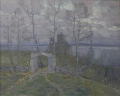 Бялыницкий-Бируля В. К. Предвечерняя тишина (Островенское кладбище)