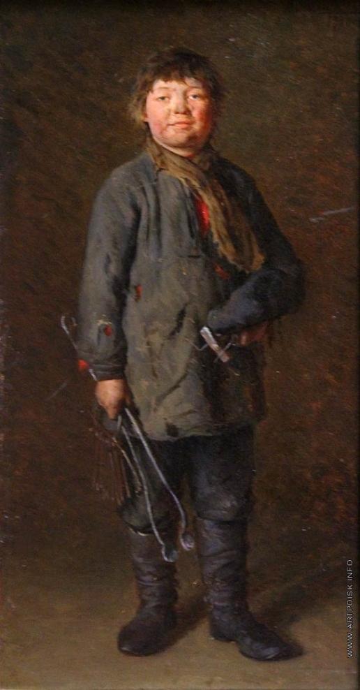 Лемох К. В. Будущий слесарь