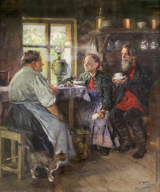 Маковский В. Е.  Кухаркины гости