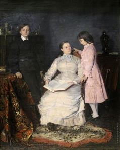 Маковский В. Е. Семейный портрет Орловских