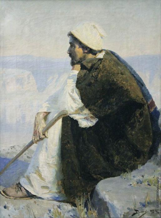 Поленов В. Д. Сидящий Христос
