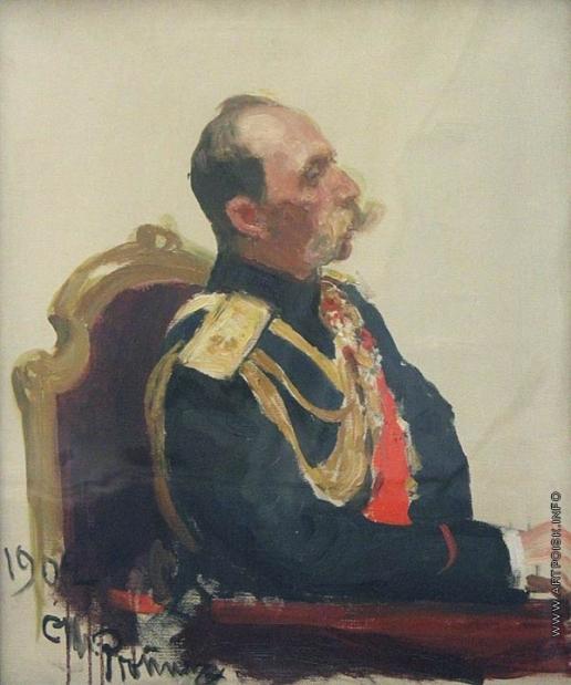Репин И. Е. Портрет В.Б. Фредерикса