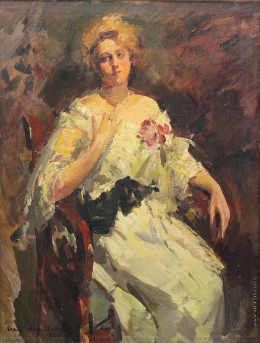 Коровин К. А. Портрет Н.И. Комаровской