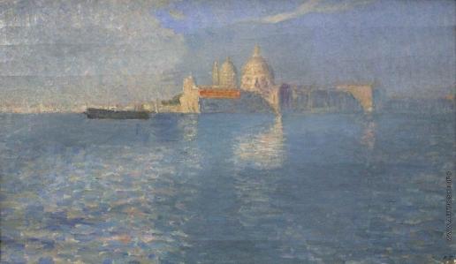 Первухин К. К. Голубое утро. Венеция