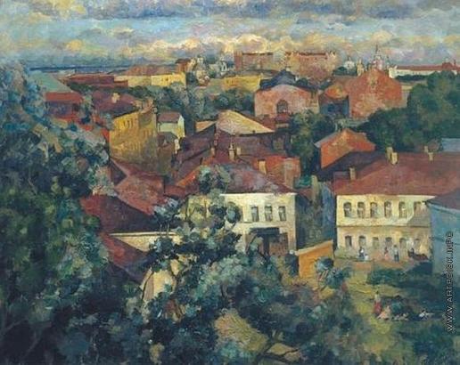 Федоров Г. В. Лето. Москва
